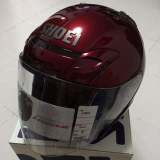 LOOKING FOR SHOEI JF3 WINE RED NOS