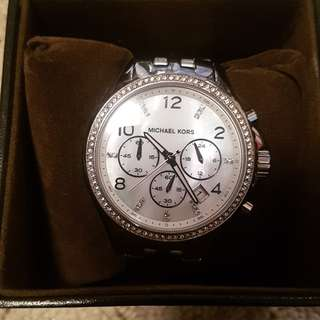 Michael kors womens watch in silver