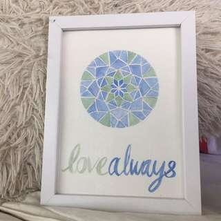 Love Always (watercolour)