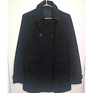 French Connection Wool Pea Coat