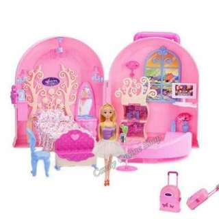 Doll House Suit Case