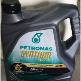 Semi Synthetic Petronas Syntium 800SE 10w-30 (4L)