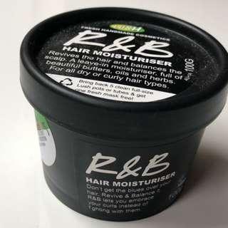 Lush R&B hair moisturiser