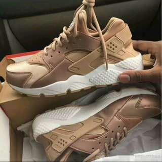 Rose gold huarache men