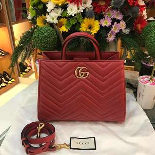 Gucci Marmont Red new 100%