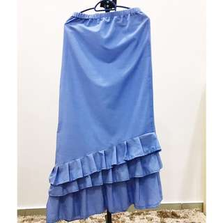 Long Skirt Ruffles
