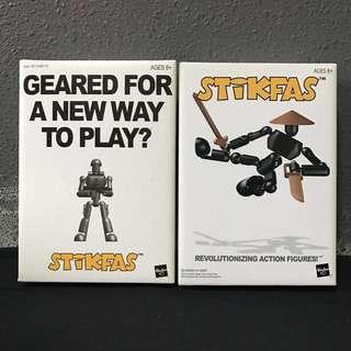 2 x Stikfas Figures