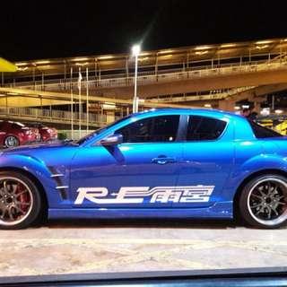 RX8 Manual 231HP