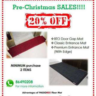 Door & Grill gap floor mat
