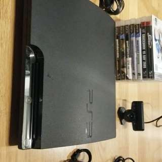 PS3 Entire Package + 9 Games