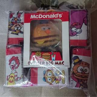 2010年限量收藏版 Limited Edition McDonald's 35th Anniversary 樂園人物系列套裝