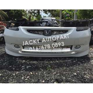 Front Bumper Depan Honda Jazz Fit Gd Putih Japan