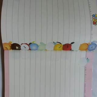 Tsum Tsum A6 little notebook #Huat50Sale