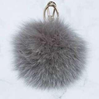 Furla Bubble Keyring - Fur Pom Pom accessory