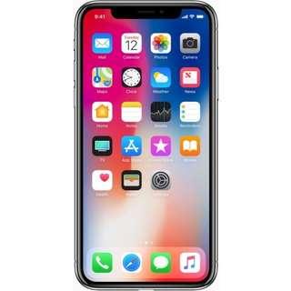 64GB IPhone X Silver