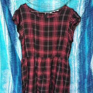 Checkered dress colorbox