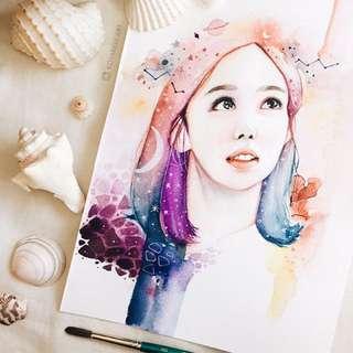 Twice Nayeon Art Print