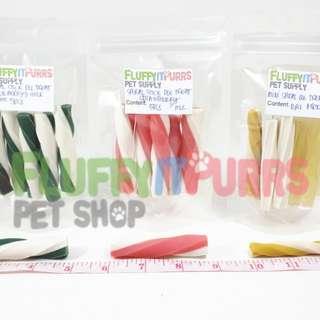 Dog treats (small chew sticks)