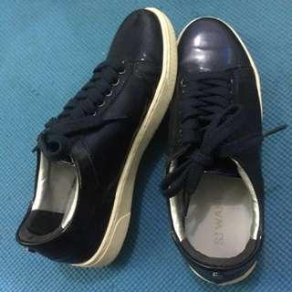 Sepatu Sneakers Biru Uk. 39 ala korea unisex