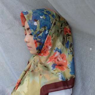 Best seller Hijab Vintage brown