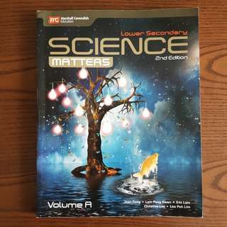 BN Lower Secondary Science Matters Volume A Textbook (2nd Ed)