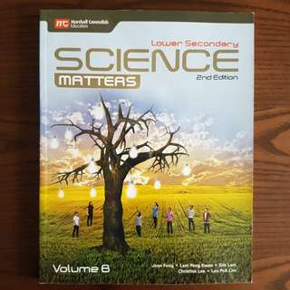 BN Lower Secondary Science Matters Volume B Textbooks (2nd Ed)