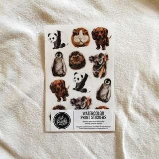 Animal Sticker Set