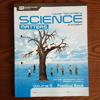 BN Lower Secondary Science Matters Vol B Practical Book (2nd Ed)
