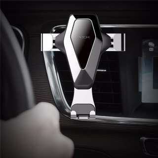 Premium Stylist Gravity Universal Air Vent Car Mount Mobile Phone Holder For iPhone 7 8 Xiaomi Samsung S8