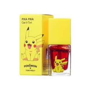 👄SALE👄TONYMOLY Pikapika Get It Tint 9.5g (Pokemon Edition)