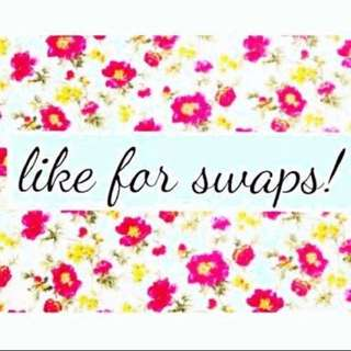 SWAPS ✌🏼