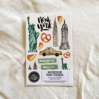 New York Sticker Set