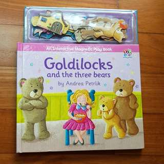 Interactive Magnetic Play Book: Goldilocks and the Three Bears