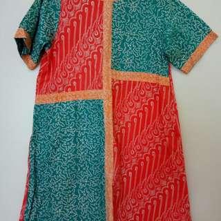 Batik Casual Dress