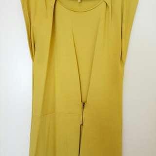🚚 BN Mustard Green Dress