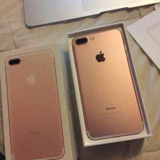 iPhone 7plus 128g Rose gold
