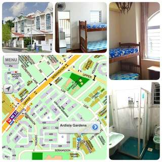 Serangoon MRT - 6min room in landed house