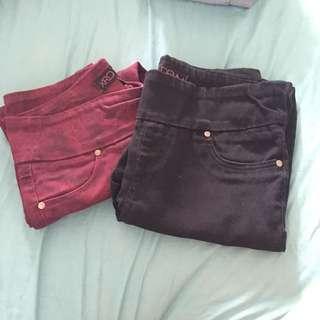 XRD DENIM pants