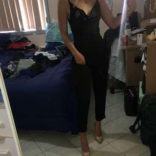 Pretty little thing - black jumpsuit