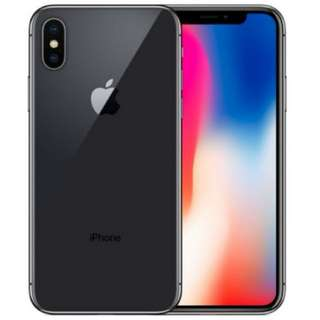 iPhone X Space Grey 256 GB set