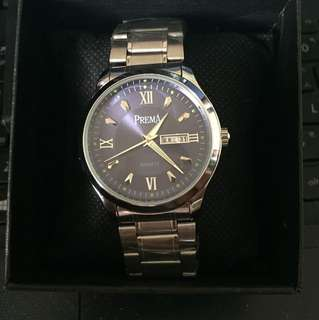 Pream手錶 (有日期顯示)