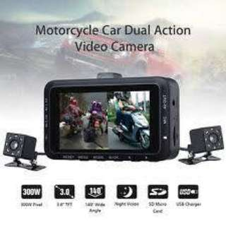 Dashcamera for motorcycle