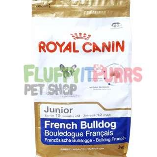 Royal Canin French Bulldog Junior 3kgs