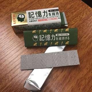 日本 LOTTE 樂天 記憶力香口膠 (片裝) $35 2排