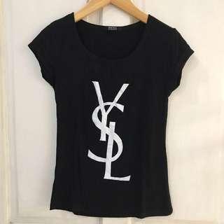 Kaos hitam YSL
