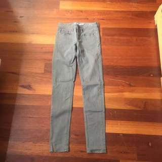 khaki jeans size 6