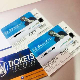 PATRON B Ed Sheeran Live in Manila Tickets