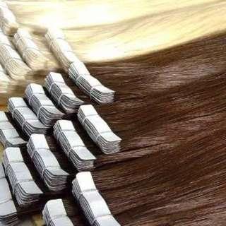Tape Hair Extentions 100% Human Hair 60 G