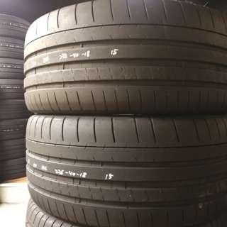 大量二手車呔 15年 米芝蓮 MICHELIN PSS 235-40-18