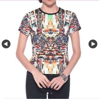 Lovebonito Tiaghan Graphic Top